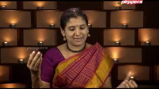 பக்தி பரவசம் - சிந்துஜா சந்திரமௌலி, ஆன்மீக இசை சொற்பொறியாளர்| Peppers TV |Bakthi Paravasam|28 Sep 20