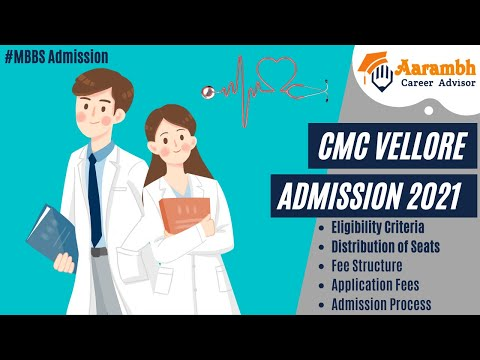 CMC VELLORE 2021 MBBS ADMISSION   ALL INFORMATION   Christian Medical College  