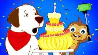 Annie's Surprise Birthday Party! Cartoons for Children | Annie and Ben