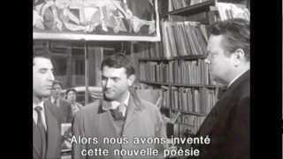 Orson Welles Interview - featuring Isidore Isou Lettrism