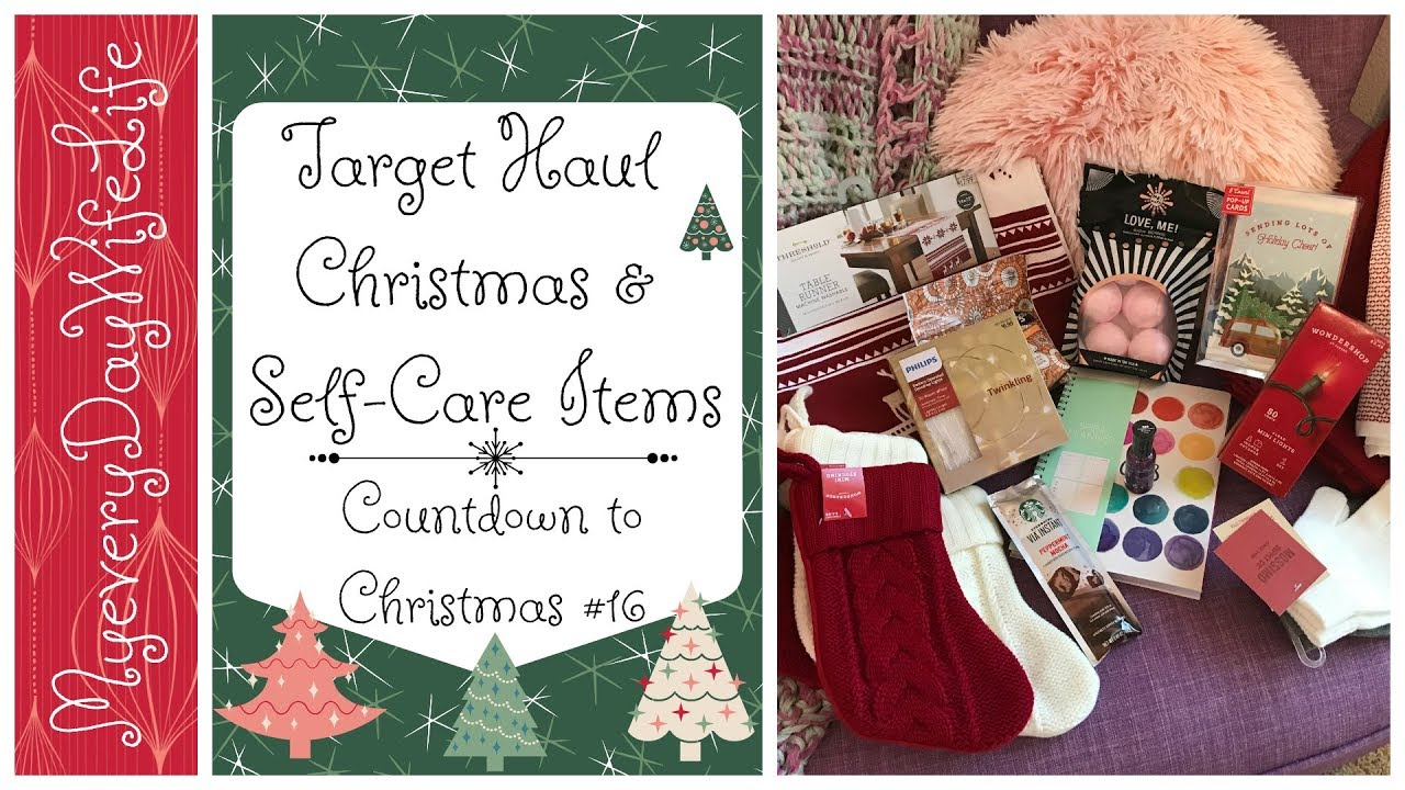 Target Haul || Countdown to Christmas #16 - YouTube
