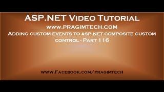 Adding custom events to asp net composite custom control   Part 116