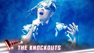 The Knockouts: Sheldon Riley sings 'Call Out My Name' | The Voice Australia 2019