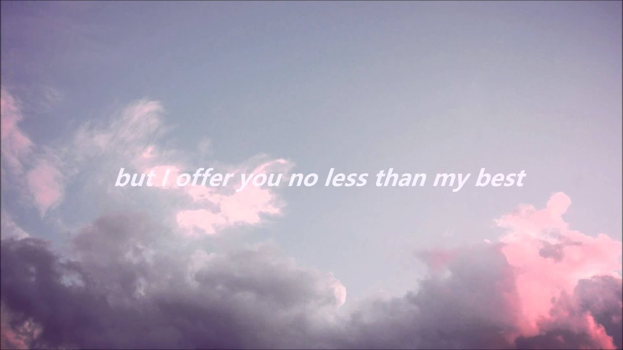 Minimalist Wallpaper Fall Rolling Over Me By Tyler Imbrey Lyric Video Youtube