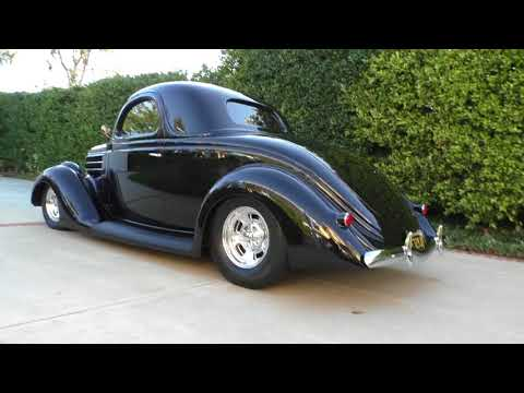 1936 Ford 3 Window Coupe All Steel Ford Powered Hot-Rod Resto-Rod