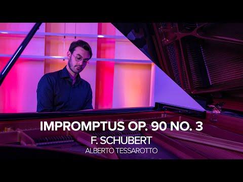 F. Schubert - Impromptus op. 90 n. 3, Alberto Tessarotto