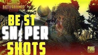 PUBG Mobile | BEST SNIPER SHOTS | INSANE SCOPE SHOTS | PUBG BEST SHOTS SHORT COMPILATION |