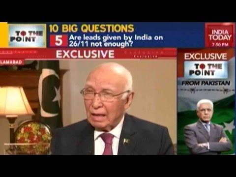 To The Point: Sartaj Aziz Speaks Exclusively On Pathankot Probe