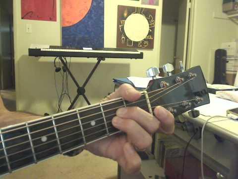 Guitar 1 Lesson 7: A2 chord tutorial