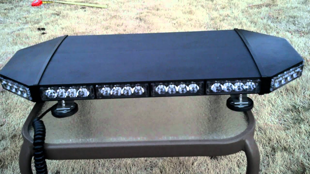Cps mini raptor t4 led lightbar youtube aloadofball