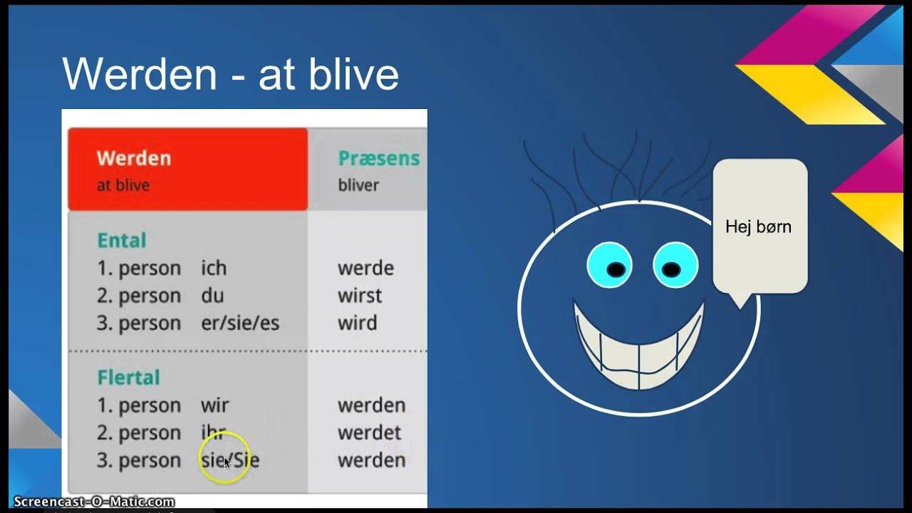 Tyske verber