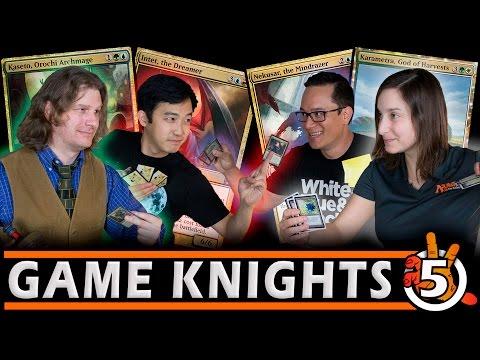 Professor & Melissa DeTora l Kaseto, Karametra, Nekusar & Intet l Game Knights #5 MTG Gameplay
