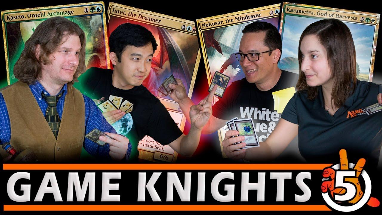 Professor Melissa Detora L Kaseto Karametra Nekusar Intet L Game Knights 5 Mtg Gameplay