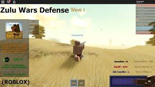 Zulu Wars Defense Gameplay (Spielen als Zulu) (Roblox)
