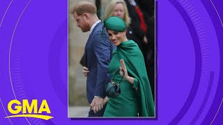 Harry and Meghan bid a final farewell to the UK as they embark on their new lives l GMA