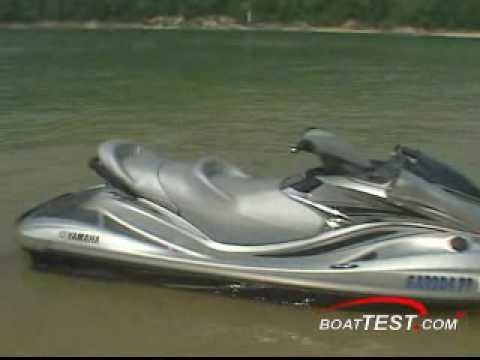 Yamaha FX Cruiser High Output 2008 - BoatTest.Com - YouTube