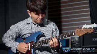 [MusicForce] LSL Saticoy SSH Demo - HONNE 'Me & You' Cover by Guitarist '이진원' (Jin-Won Lee)