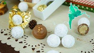 Spektulatius Trüffel selber machen aus 4 Zutaten - Weihnachtspralinen Rezept - Kuchenfee