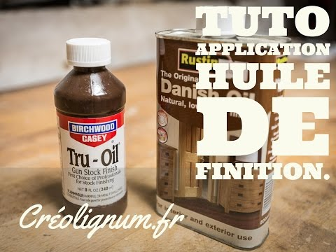 Tuto: Application huile de finition