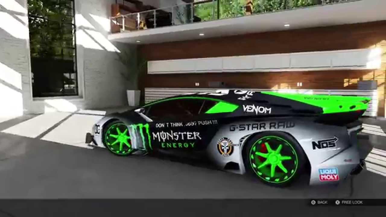 Delicieux Forza Motorsport 5 Lamborghini Veneno 2013 #MONSTER ENERGY   YouTube