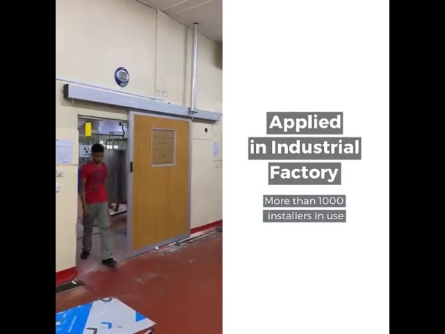 CKS ASD200 Automatic Sliding Door System Video