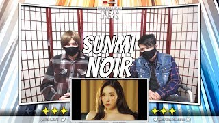 SUNMI (선미) _ 누아르 (Noir) MV | [ NINJA BROS Reaction / Review ]