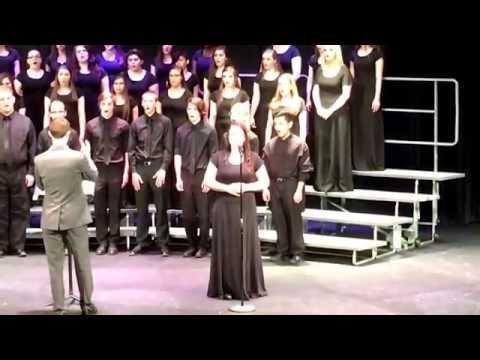 Conant High School May 24, 2016 concert choir. Alexxis Coleman