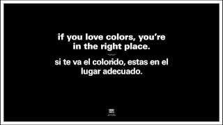 We love colours