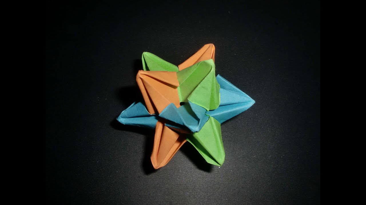 origami 3d star tutorial - DriverLayer Search Engine - photo#24