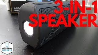 Bluetooth Speaker Review - Waterproof Flashlight and Power Bank