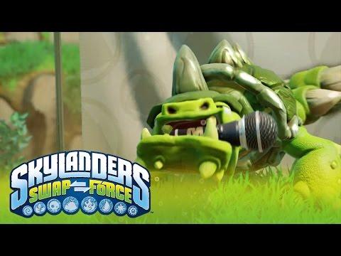 Skylanders Short Cuts: Slobber Tooth l SWAP Force l Skylanders