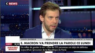 Gilets Jaunes Acte IV: Damien Lempereur en débat sur CNews