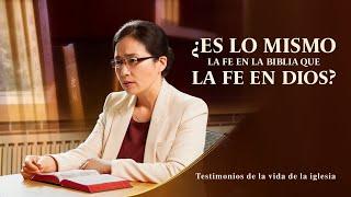 Testimonio cristiano 2020 | ¿Es lo mismo la fe en la Biblia que la fe en Dios?