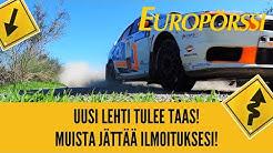 UUSI LEHTI TULEE TAAS! EUROPÖRSSI!