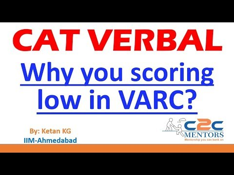 Why you scoring low in CAT Verbal - Strategies to improve your Score