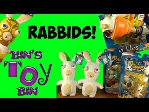 Nickelodeon Rabbids Invasion Cool Talking Figures Amp Blind