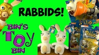 Nickelodeon RABBIDS Invasion COOL Talking Figures & Blind Bags Review! by Bin