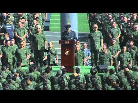 Mensaje del Secretario de la Defensa Nacional General Salvador Cienfuegos Zepeda.