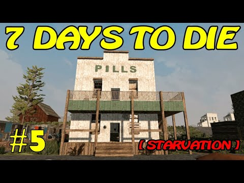 7 Days to Die [ STARVATION ] ► Вирус ► №5 (Стрим)