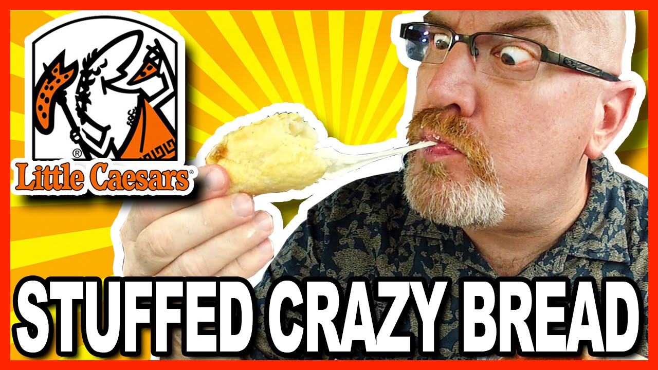 Little Caesars Stuffed Crazy Bread Review