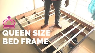 Unique Queen Size Bed Frame - How to Build