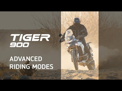 New Triumph Tiger 900 Features and Benefits - Advanced Riding Modes