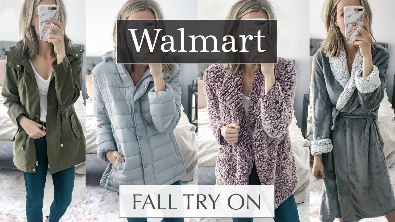 721579013d2 Walmart Try On Haul 2018 Fall Outfits  September Edition