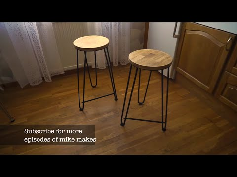 mike makes #1: re-barstools