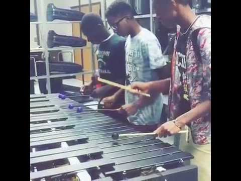 Black Beatles marimba version
