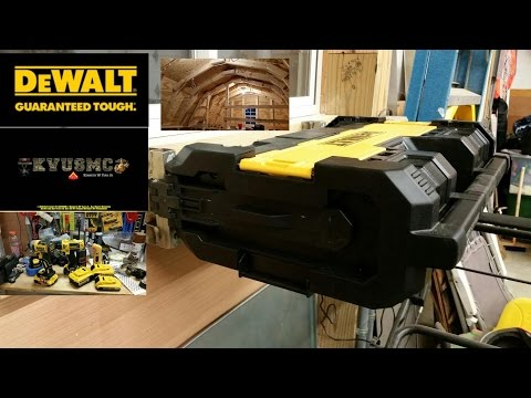 Dewalt Tough Radio / Tools And Reviews And Projects / Playhouse Updates April 2016  With KVUSMC