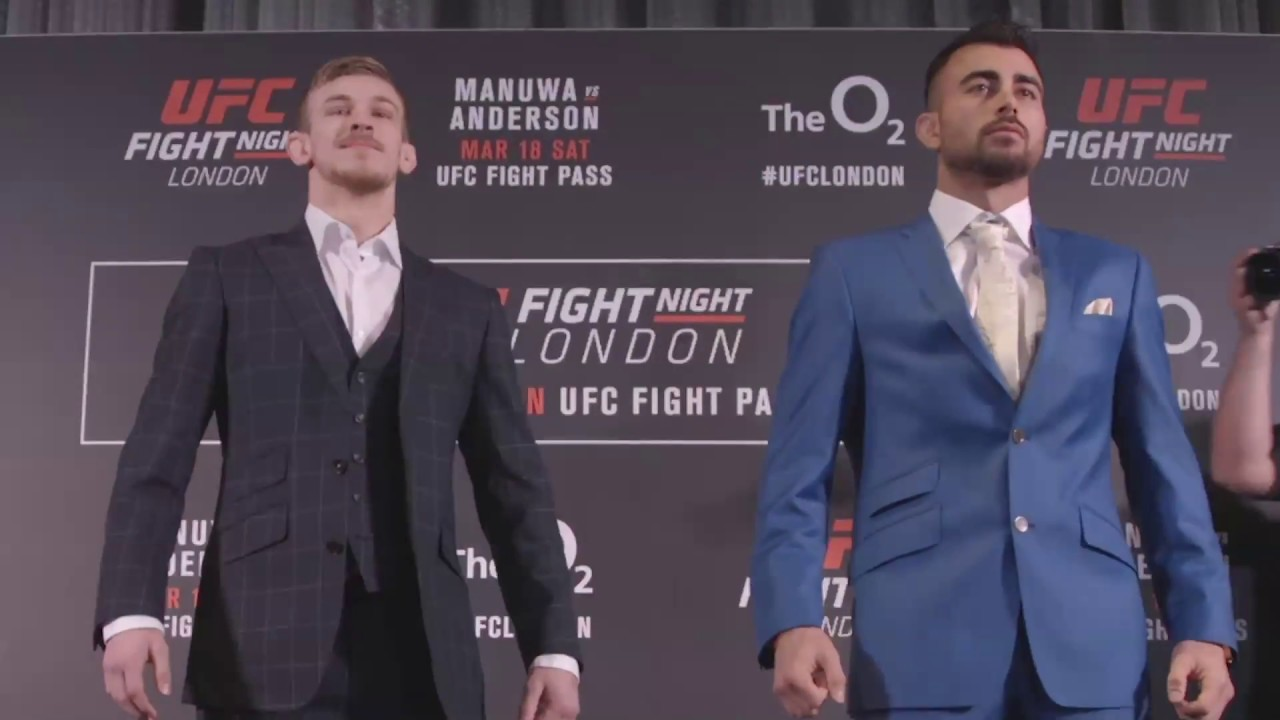 Fight Night London: Media Day Faceoffs - YouTube