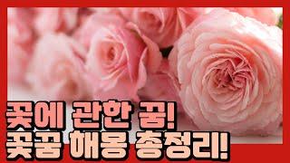 꽃을 받는 꿈은 좋은 꿈일까? 꽃꿈 해몽 상황별 총정리!