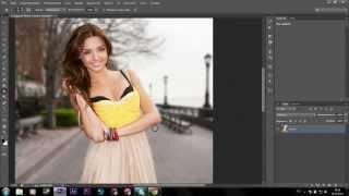 Урок Как красиво размыть задний фон фотографии в Photoshop CS6 Уроки Фоошопа