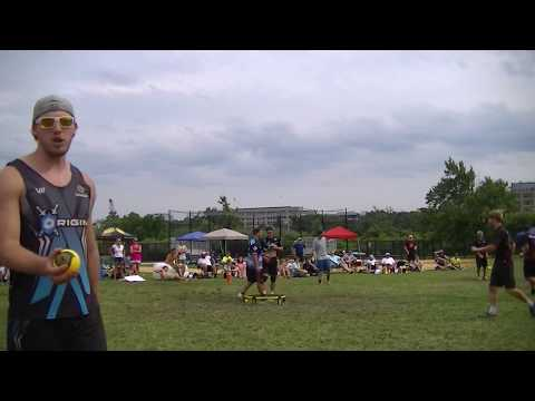 Anchored LI vs Midnight Quarter Finals Game 1 Spikeball Boston Grand Slam 2017